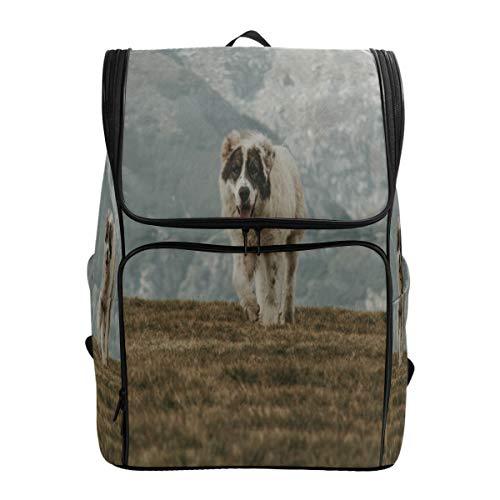(Travel Backpack Animal Brown Dog Sprot Backpack for Men Big Hunting Bookbag)