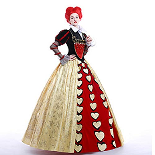Year Costume Wig Ssatin Halloween Party s Christmas M Dress Cosplay Carnival Hearts Skeleton Costumequeen Masquerade Of Sportinggoods Movie Prom Whfdrhwsjfz Petticoat New 6wHqxU86
