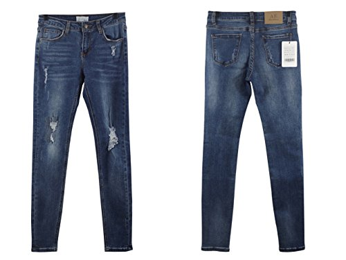 Alice Taille Elmer amp; Skinny Blue 62001 Stretch Haute Jeans Femme OrvOq