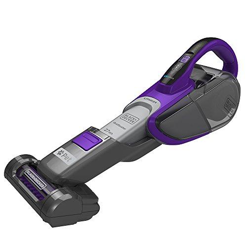 BLACK+DECKER 27Wh Pet Dustbuster Hand Vacuum with Smart Tech sensors