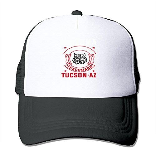 University Of Arizona Wildcats Trademark TUCSON AZ Trucker Snapback Hat Cap - Warehouse Mens Tucson