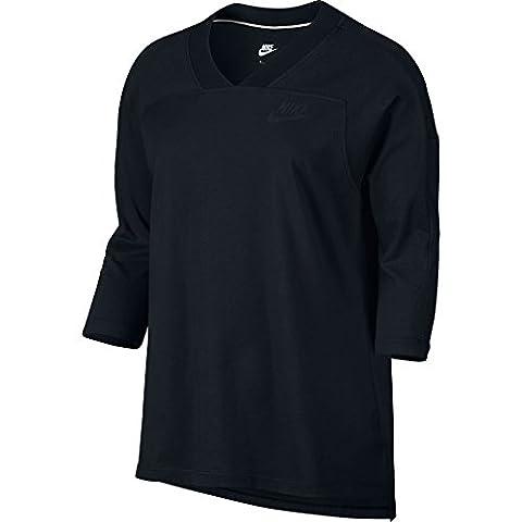 Nike Women's Sportswear Top Black/Black Small