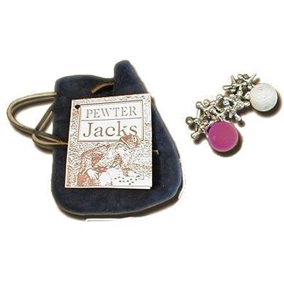 ogh-jacks Old Fashioned Toys - Pewter Jacks, Jack Toys: Toys & Games [5Bkhe0304363]