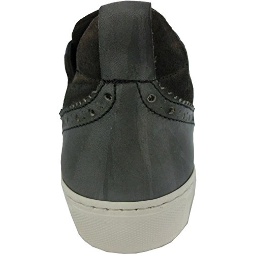 Exton - Zapatillas de Piel para hombre azul turquesa 43