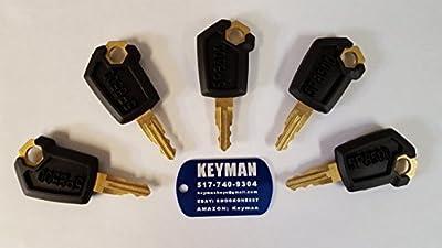 Keyman 5 CAT Caterpillar Heavy Equipment Keys