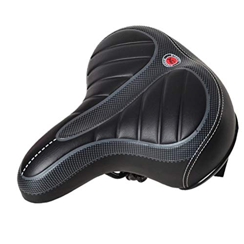 Vosarea Comfortable Bike Seat for Men and Women,Oversize Bicycle Saddle with Soft Cushion Improves Comfort for Mountain Bike, Road Bicycle