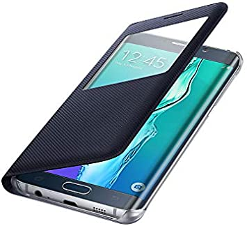 CLEAR COVER Originale Per Samsung Galaxy S6 Edge PLUS G928F Custodia Slim Blu