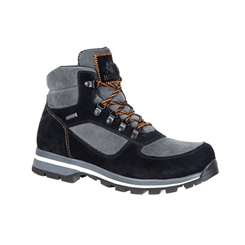 Rocky Scrambler Men's Gore-TEX Waterproof Suede Leather Hiker-RKS0316 (M12) Black