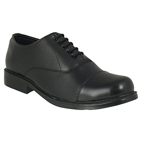 Action Shoes Men's Black Formal Shoes – 8 UK/India (42 EU)(DC-3105)