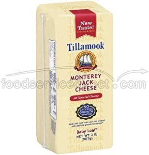 product image for Tillamook Monterey Jack Cheese, 2 Pound -- 6 per case.