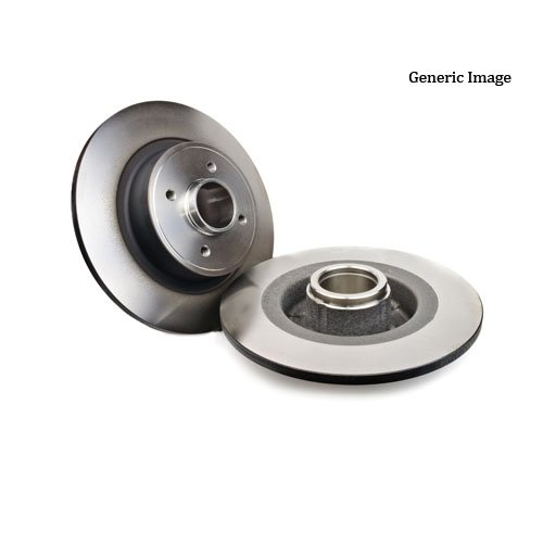 Brake Disc Full 279.9mm 55.6mm 9mm 55mm Fits TOYOTA Avensis Wagon 2003-2009 (Avensis 2004 Toyota)
