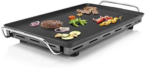 Plancha Chef XXL Teppanyaki 102325 Princess - Surface de cuisson :36 x 60 cm-Thermostat réglable - Plaque de teppanyaki très épaisse – Puissance élevée