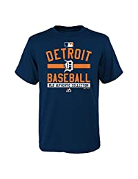 Detroit Tigers Youth Authentic Collection Team Property T-Shirt