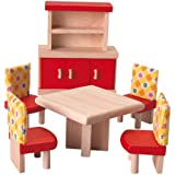 Plan Toys Doll House Dining Room - Neo Style