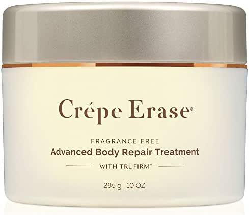 Crépe Erase Advanced – Advanced Body Repair Treatment with Trufirm Complex & 9 Super Hydrators – Fragrance Free – Full Size/10 Ounces