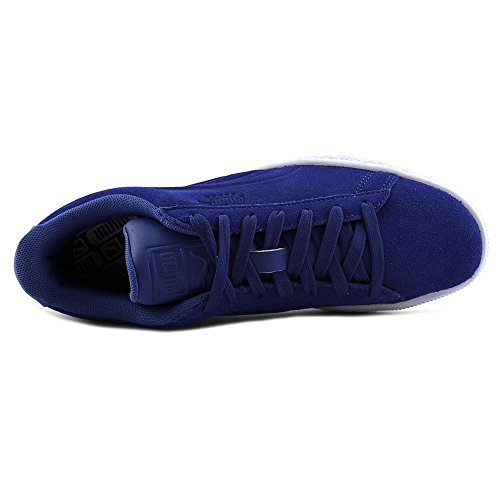 Puma Swede I Klassiska Skor Mens Storlek Bossed True Blue