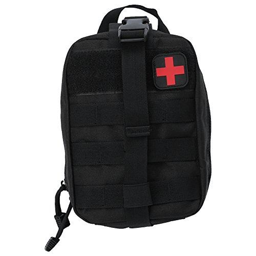 Asixx Bolsa de Primeros Auxilios de Supervivencia, Bolsa de Supervivencia para Emergencias, para El...