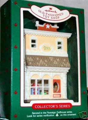 (Old-Fashioned Toy Shop 1985 Hallmark Keepsake Ornament Nostalgic Dollhouse Series #2)