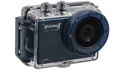 MiGear Extreme X Explorer 1080p Action Camera Bundle with Waterproof Case Blue [並行輸入品] B078FX2MY5