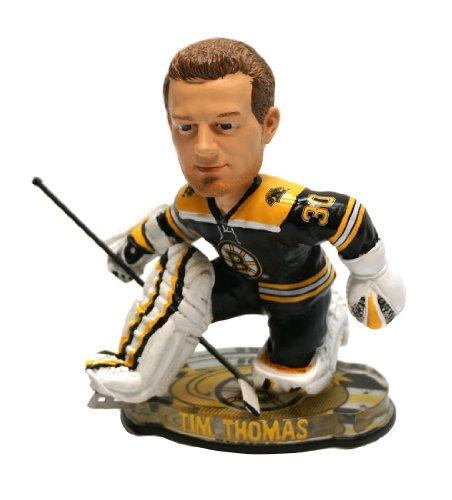 Tim Thomas Boston Bruins (Boston Bruins Tim Thomas 2012 Puck Base Bobblehead Figure)