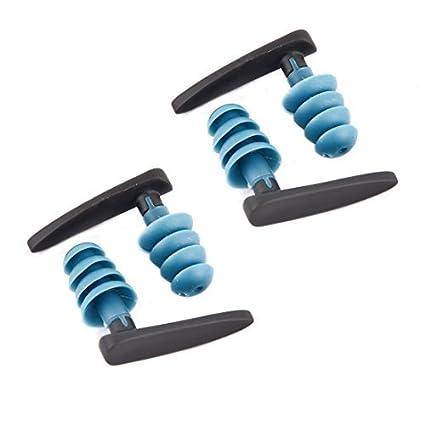 eDealMax Silicona Natación Guardia tapón auditivo del oído Protección impermeable de la caja w 2 Pares