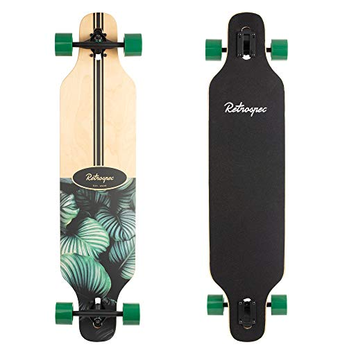 Cheap Complete Longboards - Retrospec Rift Drop-Through Longboard Skateboard Complete