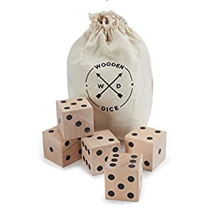 Refinery Brand Giant Wooden Dice