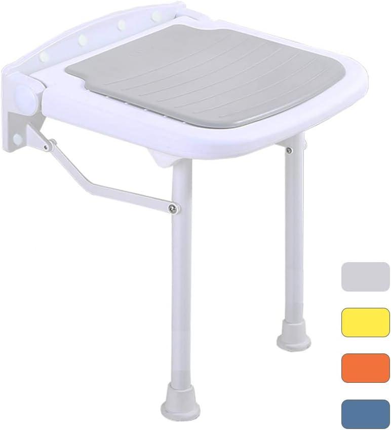 ZHEN GUO Small Folding Shower Seat Wall