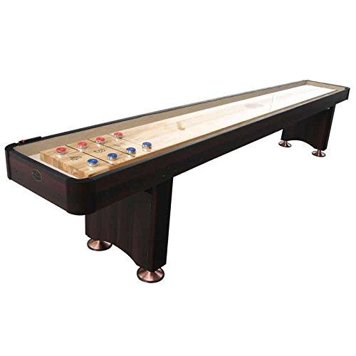 Playcraft Woodbridge Shuffleboard Table, Espresso, 9-Feet