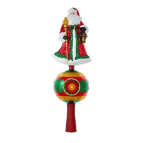Christopher Radko Father Christmas Finial Christmas Ornament