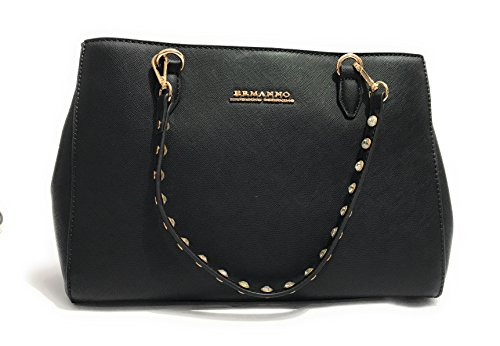 BORSA DONNA ERMANNO SCERVINO SHOPPING MOD.NEW ANYA COLORE NERO B18ES02