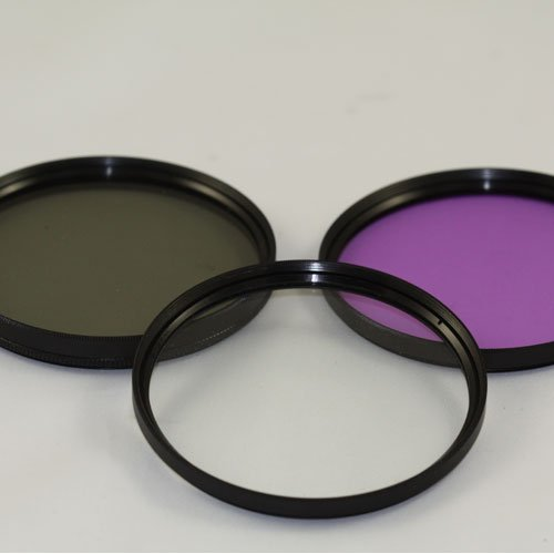 High Resolution 39mm Filter KIT For FujiFilm 27mm Leica 28mm 35mm 50mm (UV , CPL . FLD) + Lens Cleaning cloth