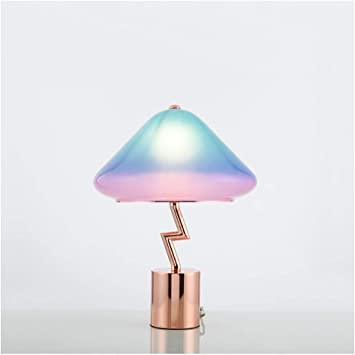 Small Post Modern Design Metal And Plastic Table Lamp