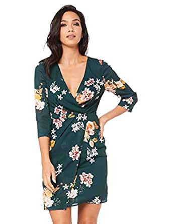 Cooper St Women's Wilderness Long Sleeve Mini Dress, Print Dark, 10