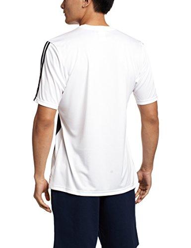 Adidas Juve H Tee Herren T-Shirt, Weiß/Schwarz