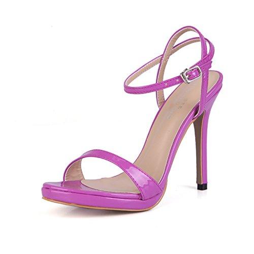 simple nouvelle banquet lattice femmes ont qui ZHZNVX pearl raccord red peinture été et chaussures Sandales poisson femme chaussures des été wYYqg8x