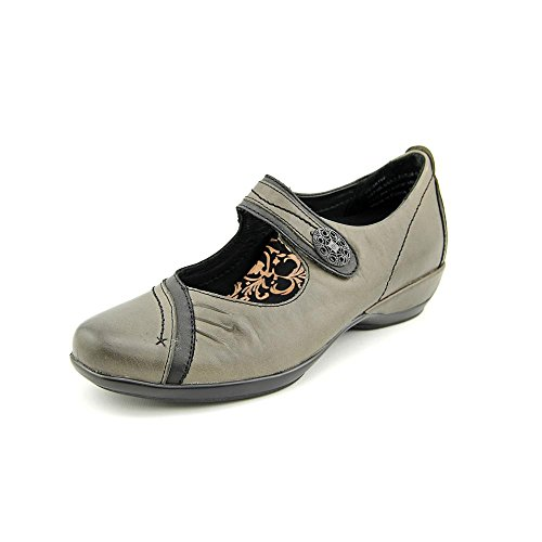Aetrex Women's Brianna Mary Jane,Grey Leather,US 10 B (Leather Janes Mary Aetrex)