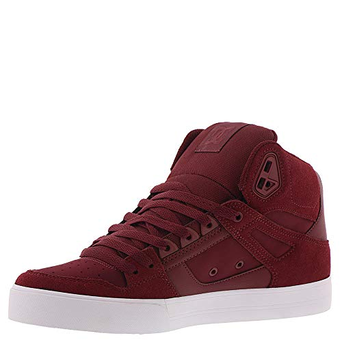 Wc Homme Pour Hightop Ht Chaussures Burgundy Dc Pure qHA11w