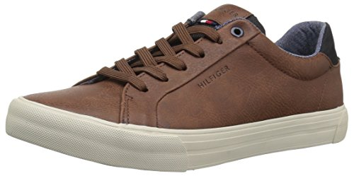 Tommy Hilfiger Men's RANCE Shoe, dark brown, 9.5 Medium US
