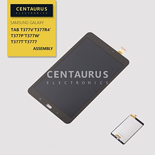 Replacement for Samsung Galaxy Tab E 8.0 SM-T377 T377T T377W T3777 T377R4 T377P LCD Display Touch Screen Digitizer Assembly Replacement Part Repair (Black)