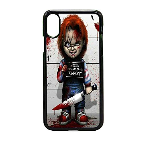 Hidden Pearls -Chucky The Doll Scary HalloweenHard Rubber Case for Apple iPhone XR Made and Shipped from The USA& Includes 1 Screen Protector]()
