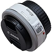 Canon EF 40mm f/2.8 STM Pancake Lens (White) Basic Facts Review Image