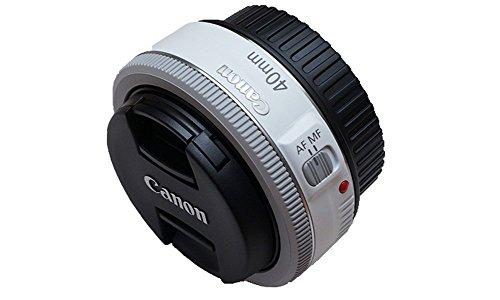 Canon EF 40mm f/2.8 STM Pancake Lens (White)