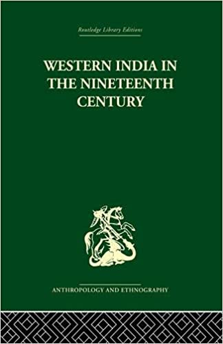 Book Western India in the Nineteenth Century