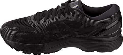 ASICS Gel-Nimbus 21 Men's Running Shoe, Black/Black, 7 D US by ASICS (Image #1)