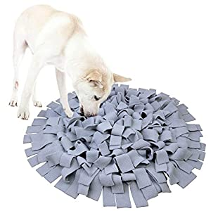 AK KYC Snuffle Mat Dogs Nosework Slow Feeding Training Play Puppy Cat Interactive Puzzle Toys Funny Foldable Blanket 12