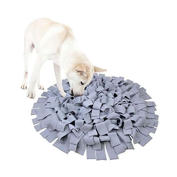 AK KYC Snuffle Mat Dogs Nosework Slow Feeding Training Play Puppy Cat Interactive Puzzle Toys Funny Foldable Blanket 1