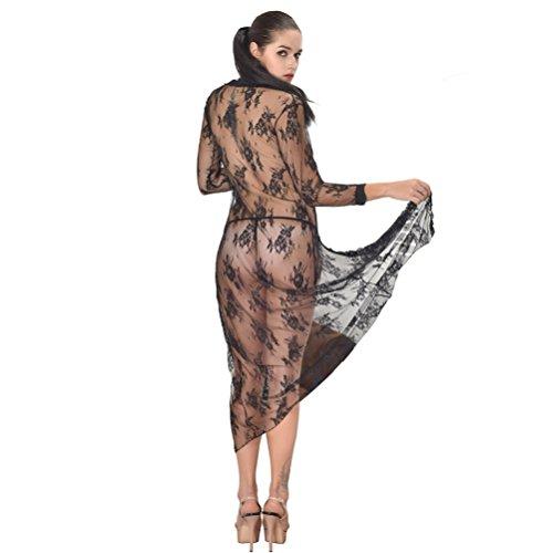 SEVEN STYLE - Conjunto de lencería - para mujer negro