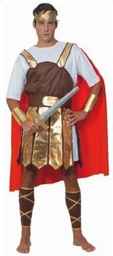 hombre adulto Soldado Romano Guerrero Toga Gladiador Disfraz ...