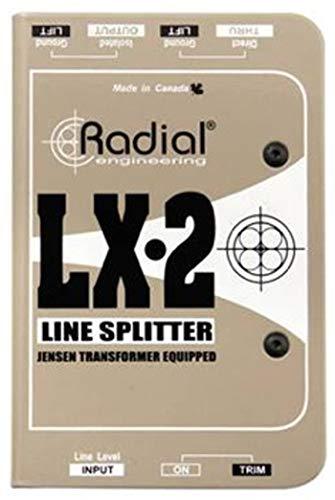 Radial LX2 2-channel Balanced Line Splitter w/Isolation